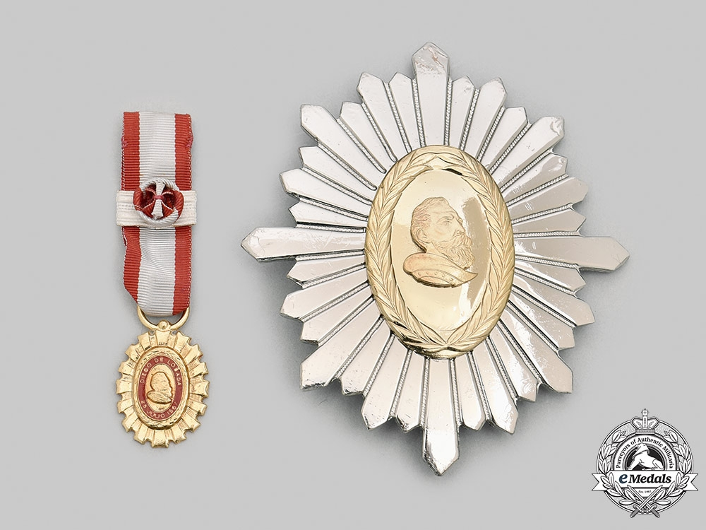 Venezuela, Federal District (Caracas). An Order of Diego de Losada, II Class, c.1985
