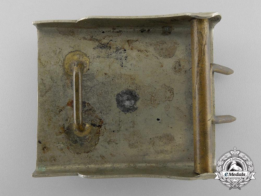 A Weimar Volunteer Fire Defence Belt Buckle; Large Size & Published