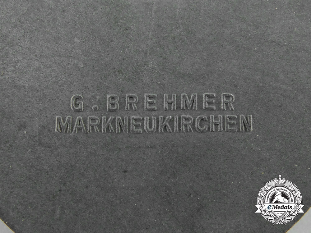 A Victors Badge in the National Trade Competition by Gustav Brehmer