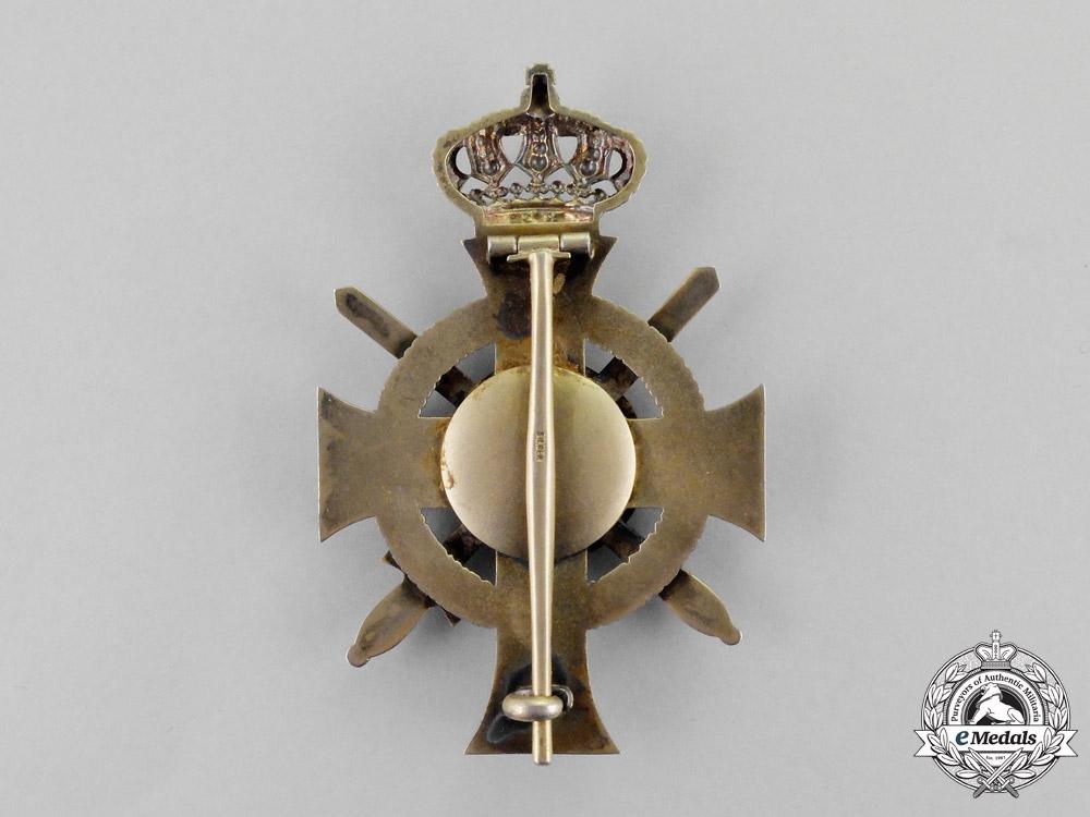 Saxony. An 1898-1918 Albrecht Order Officer's Cross with Swords by G.H. Osang of Dresden