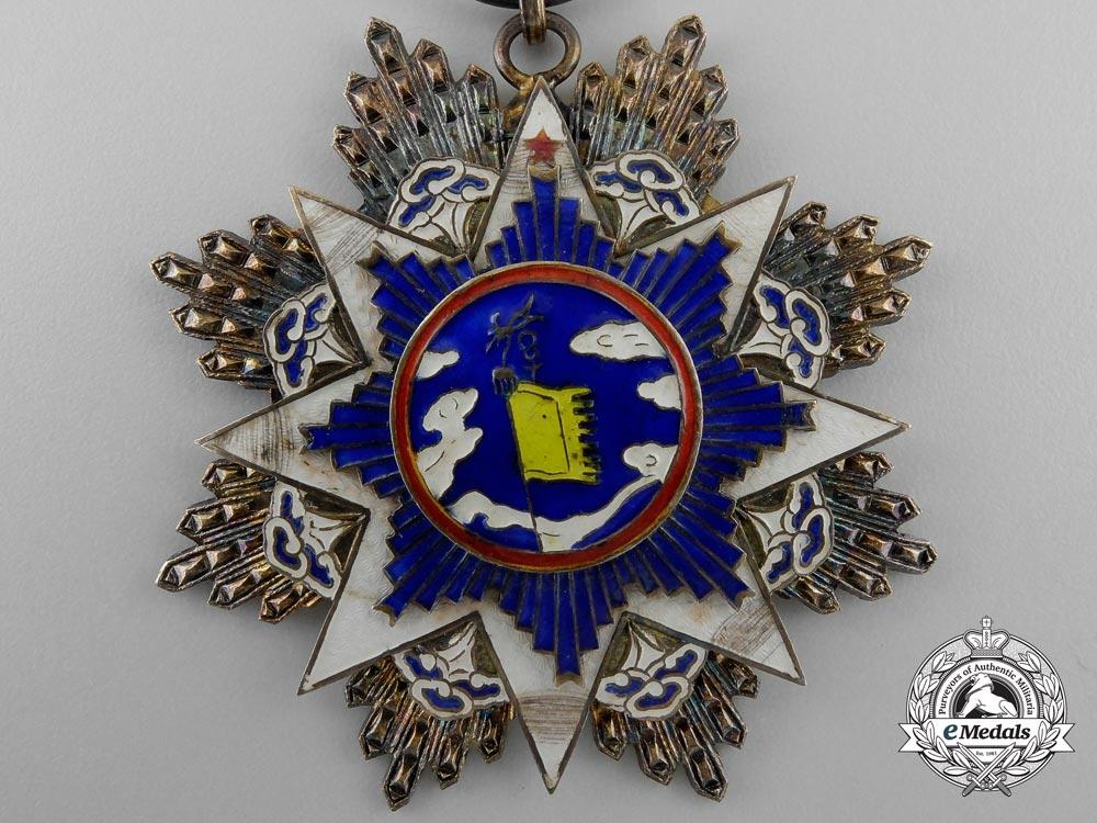 China, Republic. An Order of the Resplendent Banner, VI Class Officer, c.1935