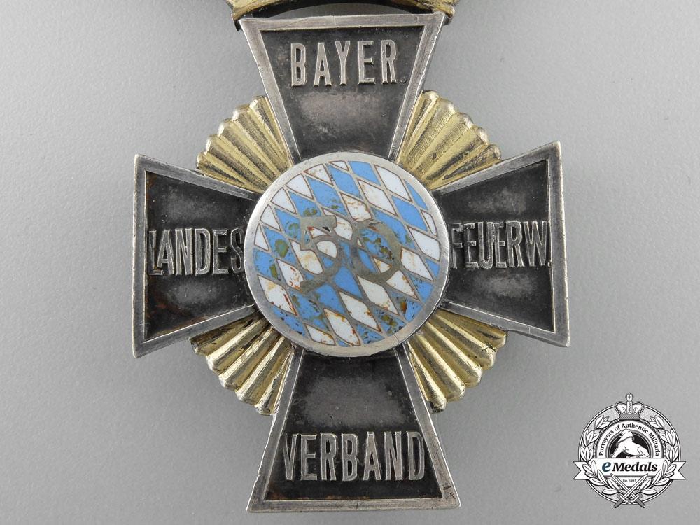 A Bavarian Fireman's 50 Years Service Award c.1930