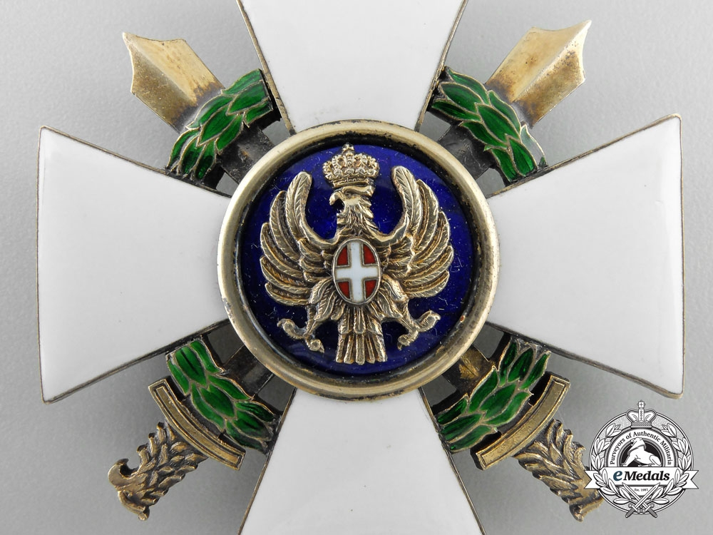An Italian Order of the Roman Eagle 1942-43; Commander's Cross