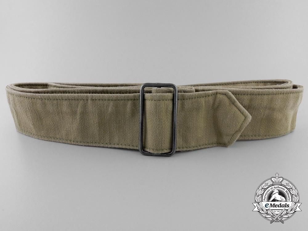 A Third Reich Khaki Belt with Buckle