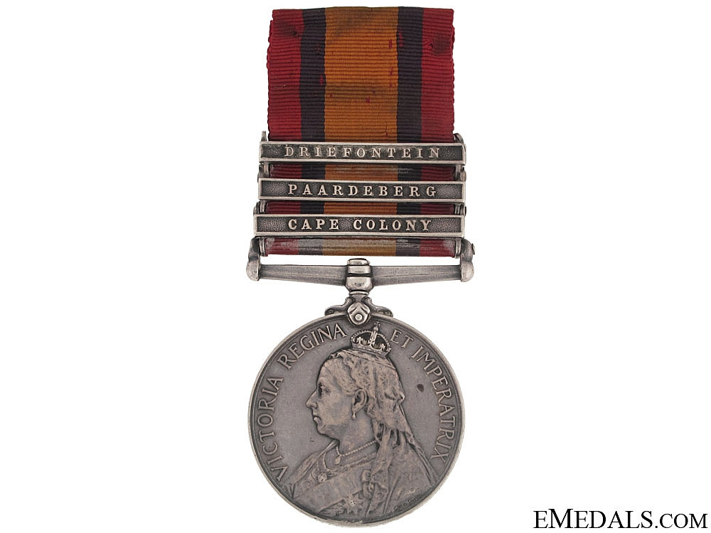 Queen's South Africa Medal - Royal Canadian Regiment