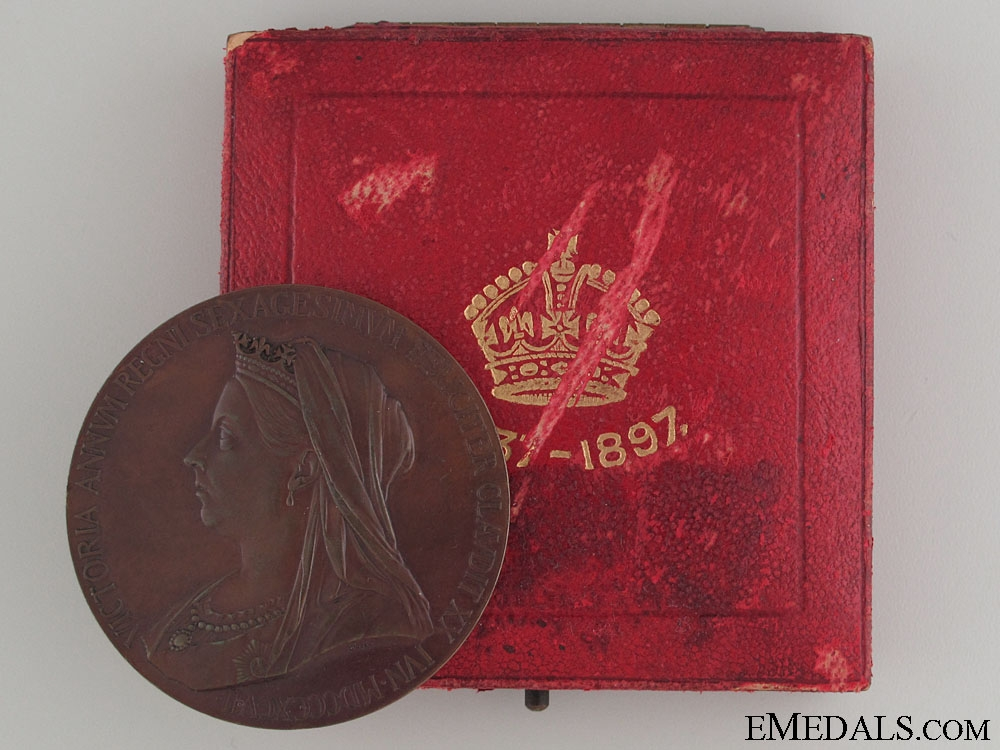 Queen Victoria Diamond Jubilee Medal 1897