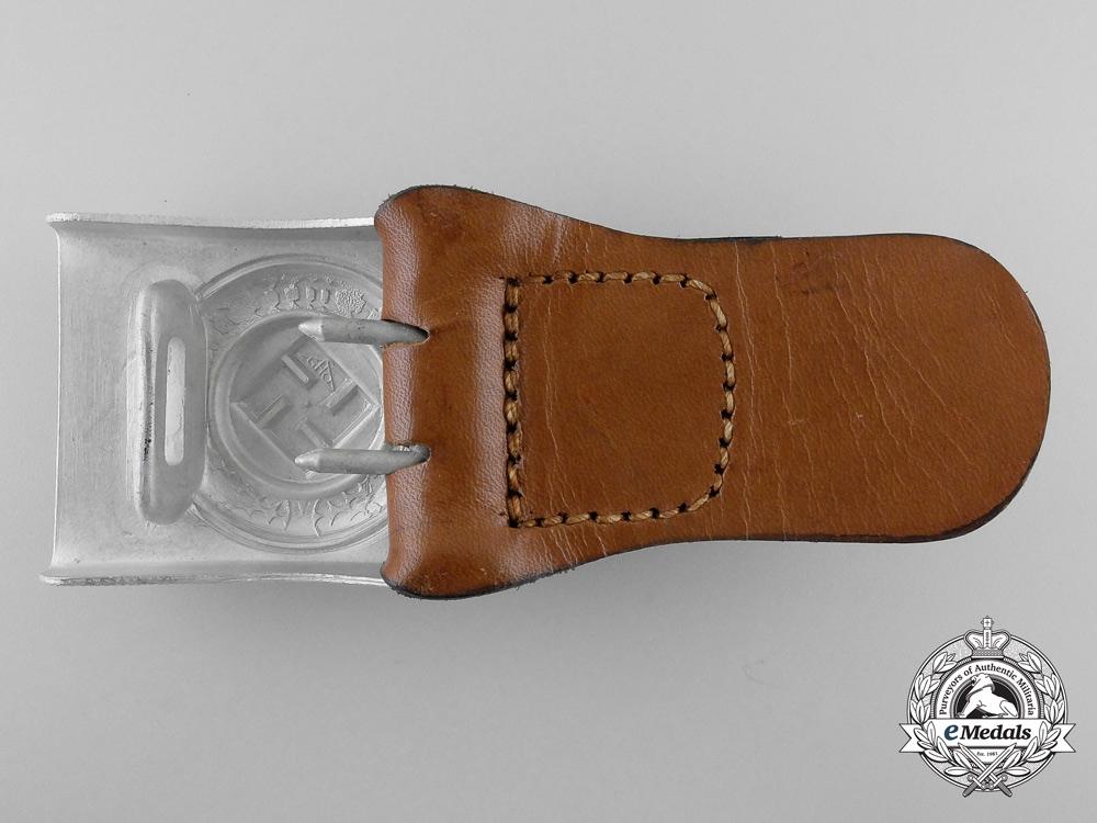 A German Police Belt Buckle by Gustav Hermann Osang