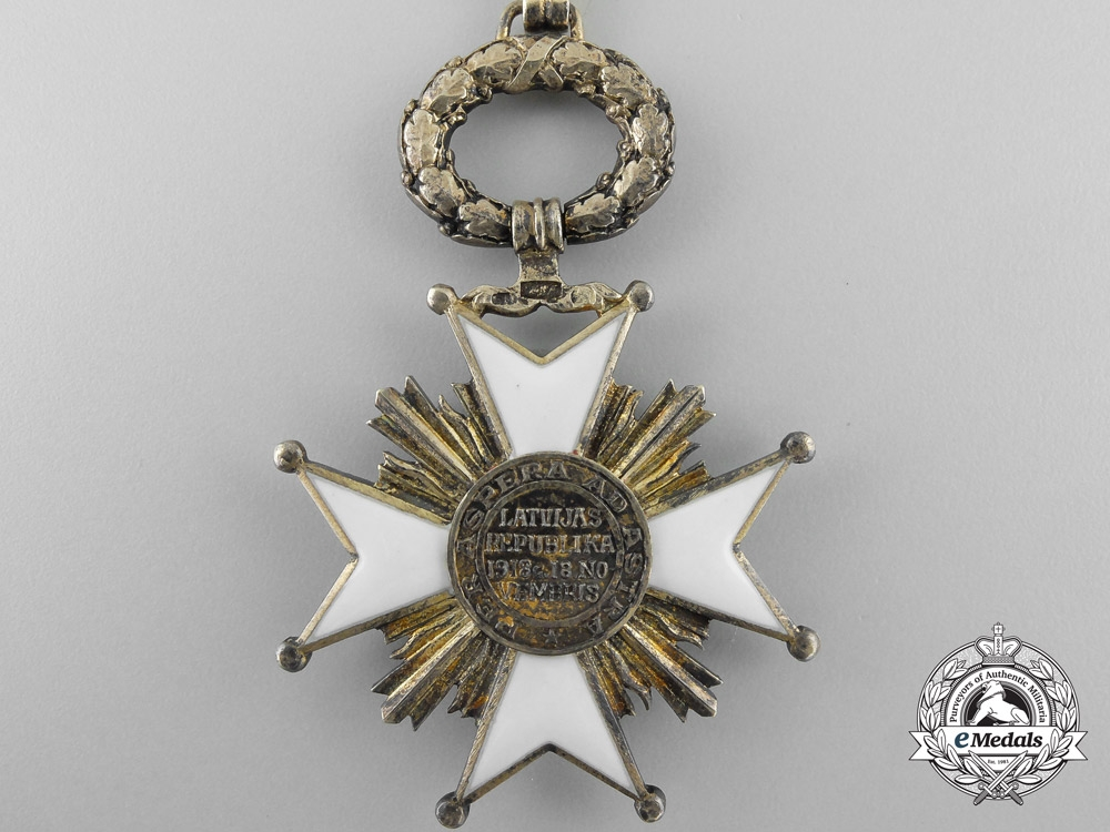 A Latvian Order of the Three Stars; Second Class c.1925