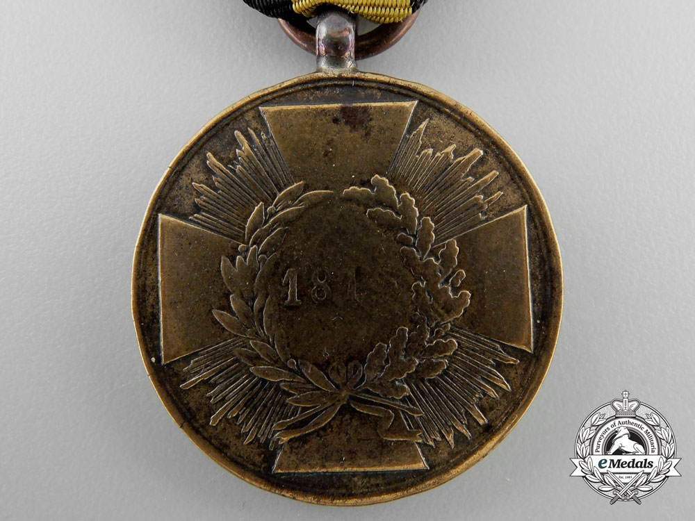 An 1814 Prussian Napoleonic Campaign Medal