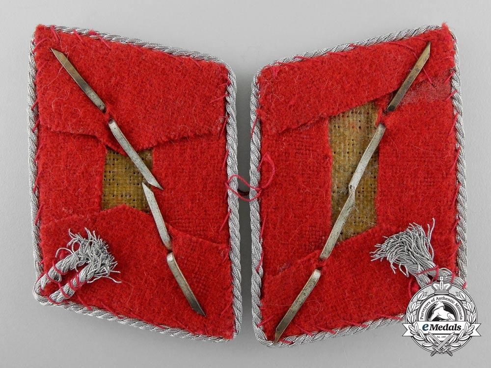 A Set of SA Division Leader Abteilungschef der Obersten Collar Tabs