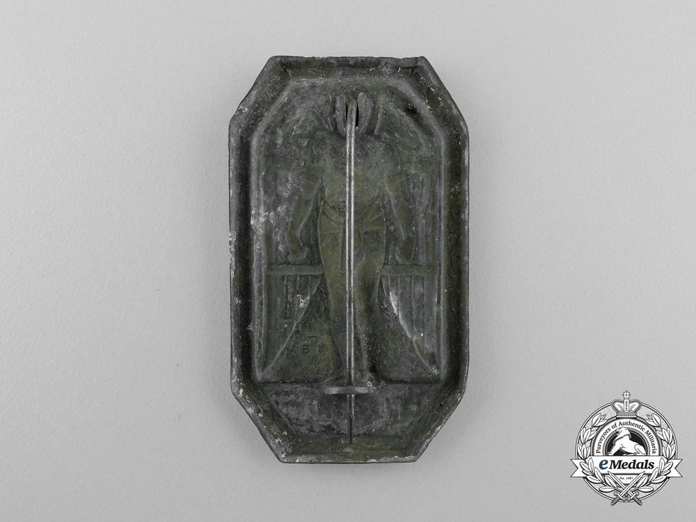 A First War Austrian Flyers Side Cap Badge