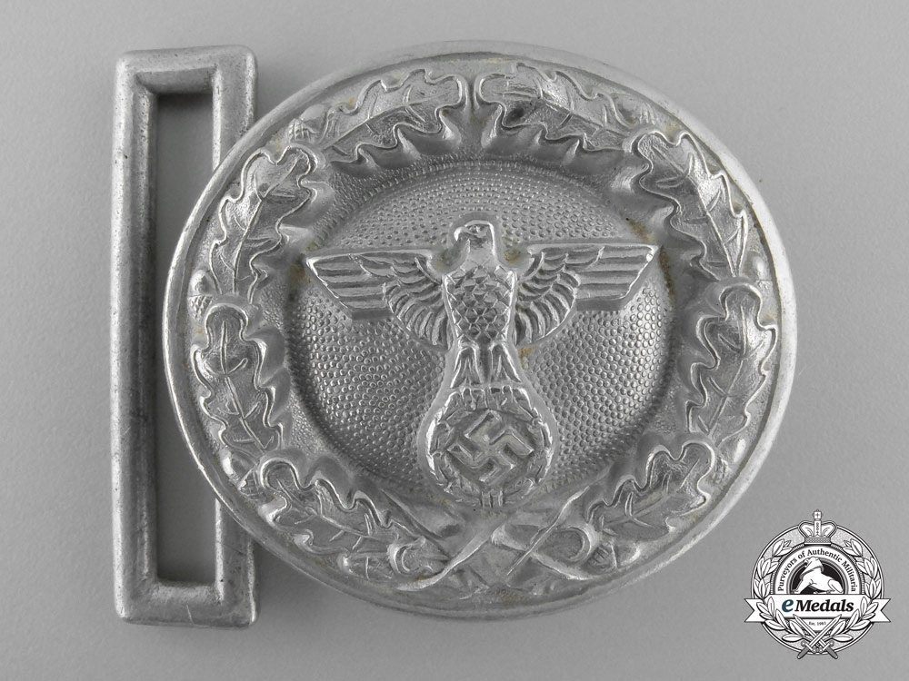 A National Forestry Official's Belt Buckle