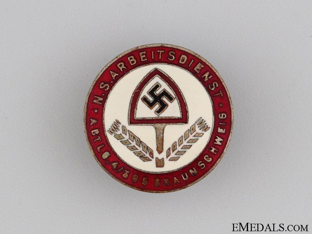 RAD Abteilung 4/305 in Brunswick Staff Badge