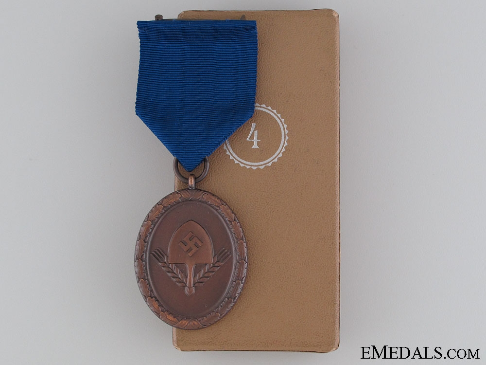 RAD Long Service Award for Men, 4th Class, Boxed