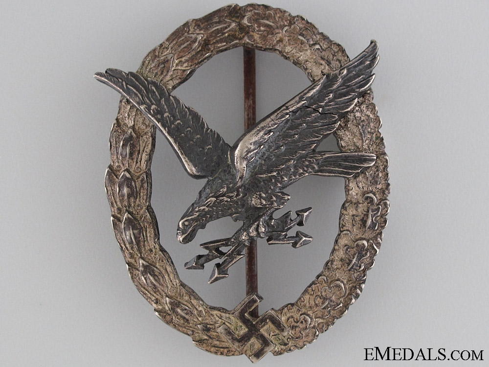 Radio Operator & Air Gunner Badge by Juncker
