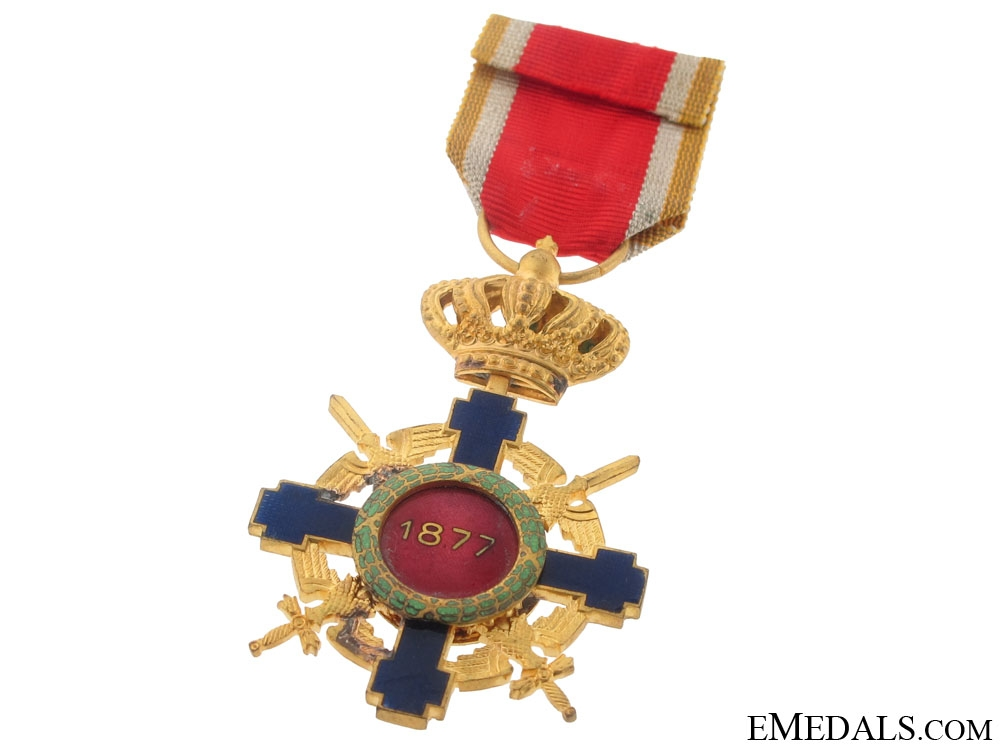 Order of the Star of Romania with Swords