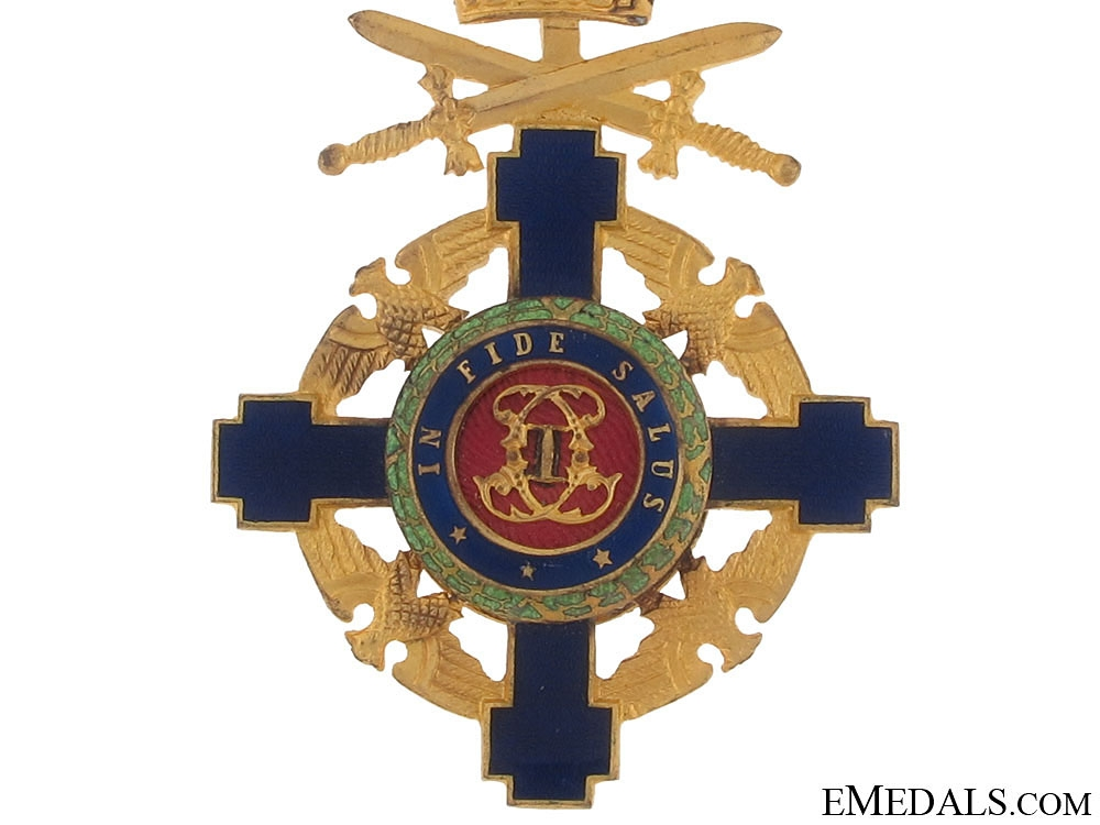 Order of the Star of Romania with Swords, Knight,