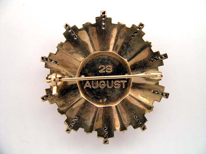 ORDER OF THE TWENTY THIRD OF AUGUST