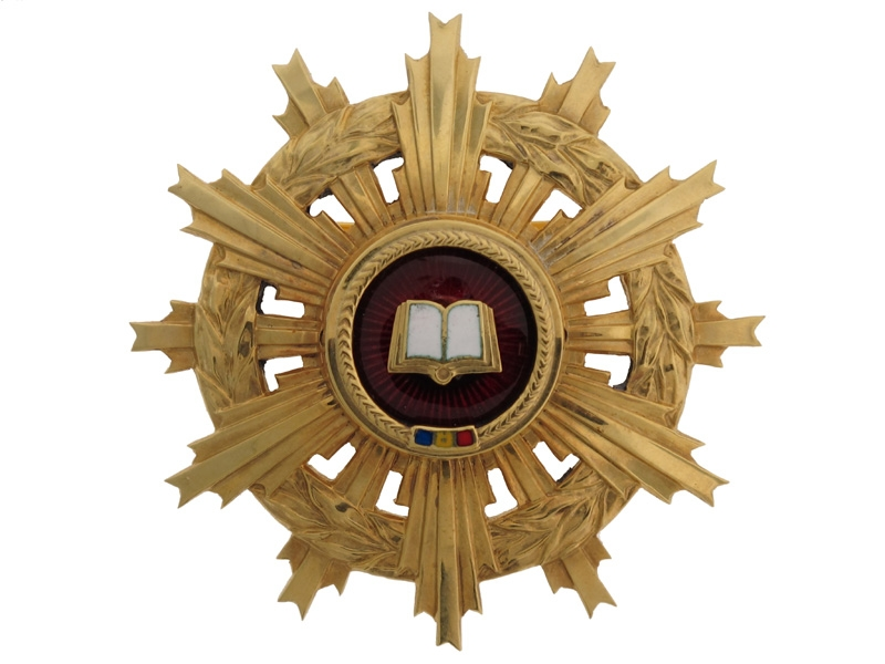 Order of Scientific Merit - Gold