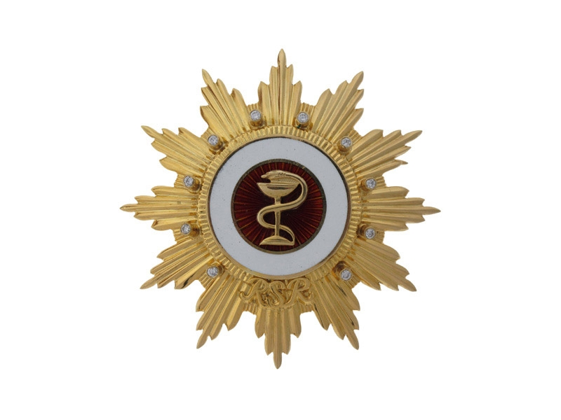 Gold Order for Medical Merit Order - Very Rare