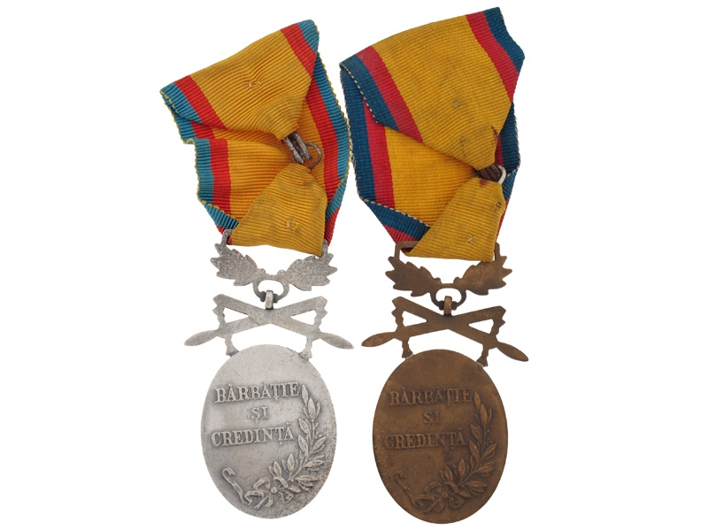 Kingdom, Two Military Medals