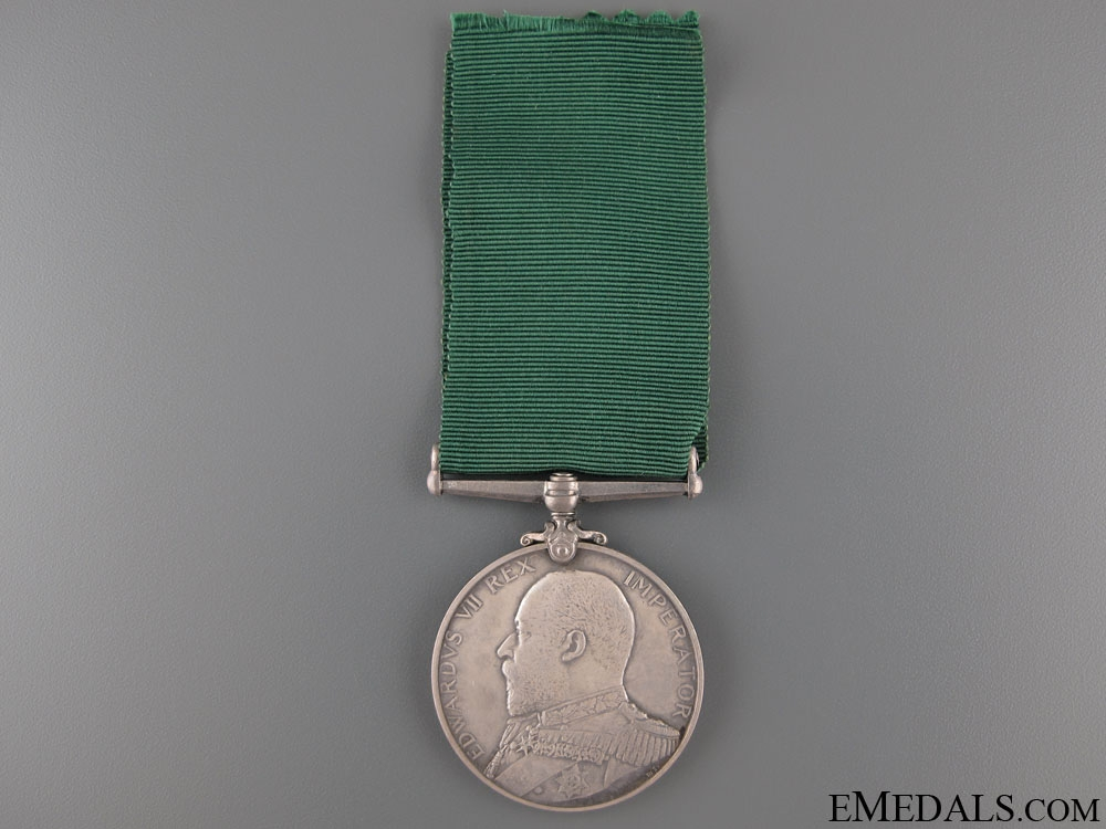 Royal Naval Reserve LS & GC Medal
