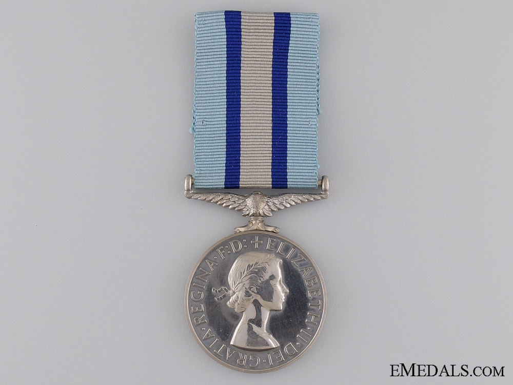 A Royal Observer Corps Medal to Leading Observer Dunch