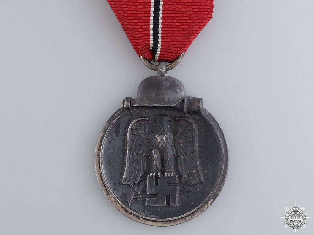 A 1941/42 East Medal with Zimmermann Issue Packet