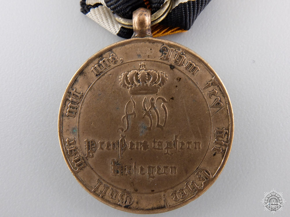 A Prussian 1814 Campaign Medal