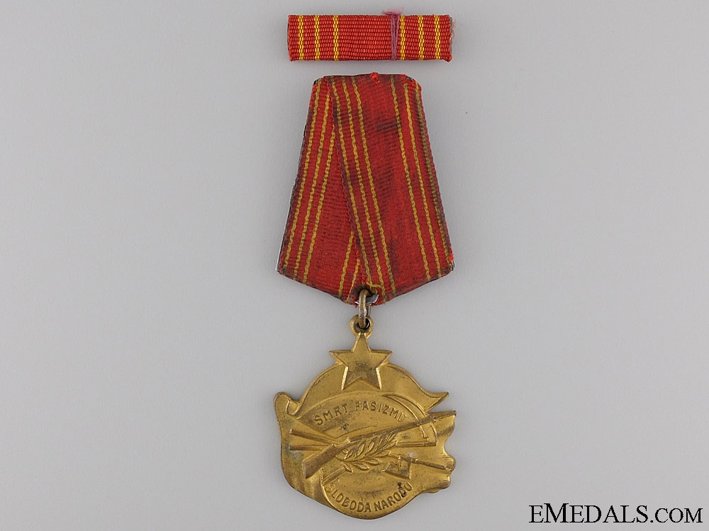 A Second War Yugoslavian Order of Bravery c. 1943-1944