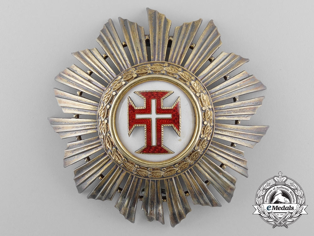 A Portuguese Military Order of the Christ; Grand Cross Set