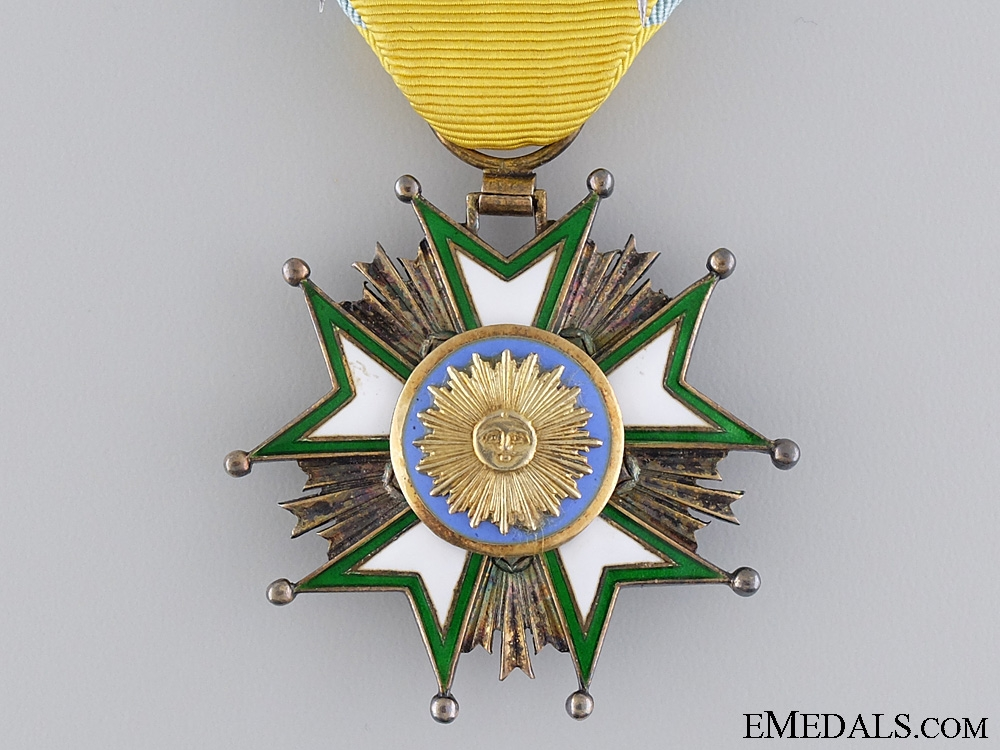 The Pahlavi Empire Order of the Crown of Iran; Knight