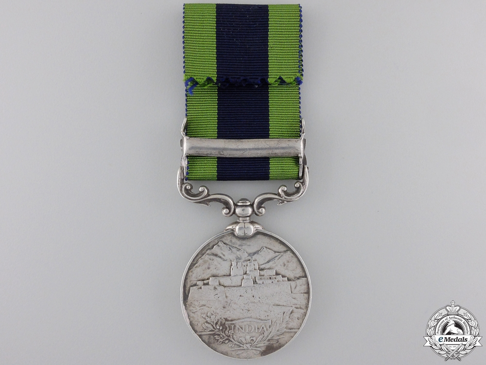 An India General Service Medal to the 1/15 Punjab Regiment