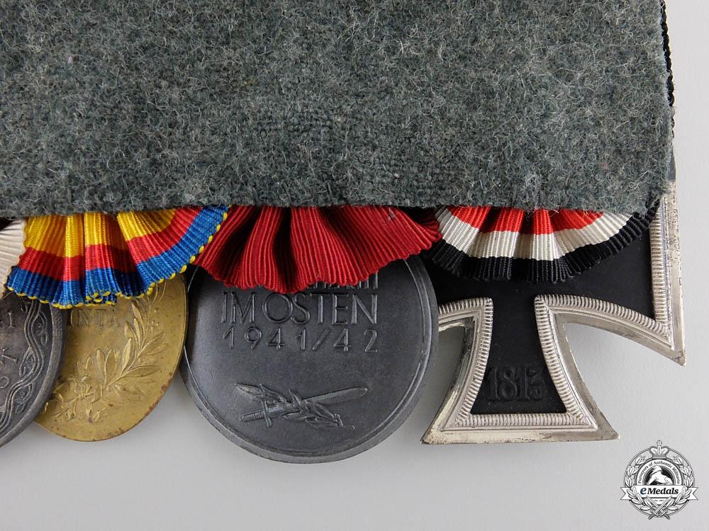 A Second War Wehrmacht & Croatian Medal Bar