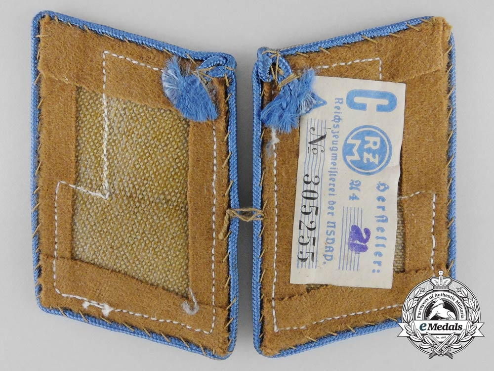 Germany, NSDAP. A Set of Orts Level Stellenleiter Administrative Collar Pair