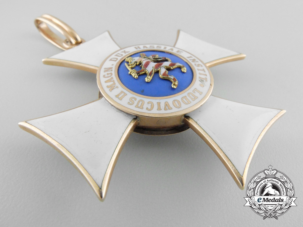 A Hessen Order of Philip the Magnanimous; Commander in Gold