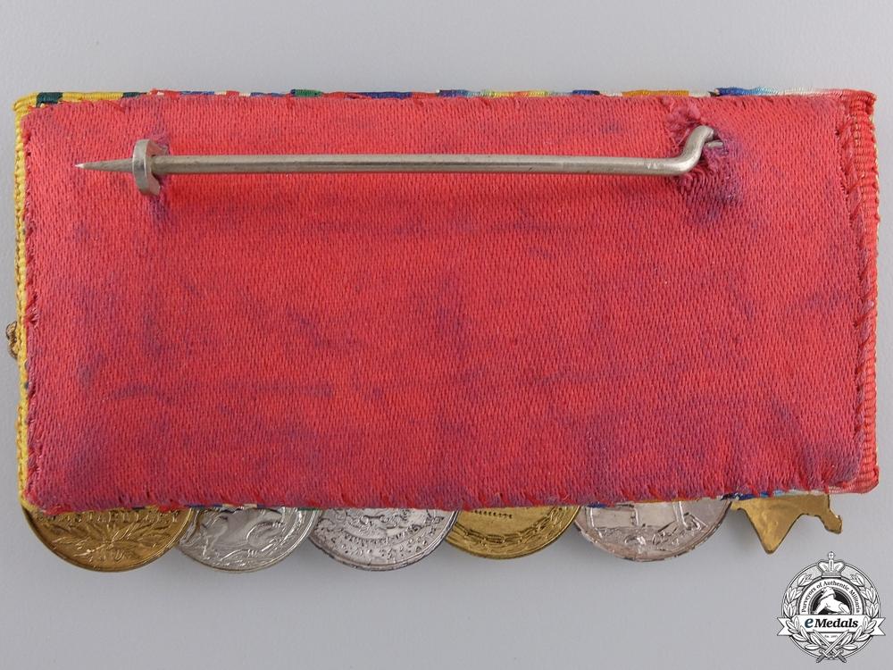 A First War Territorial Service Miniature Medal Group