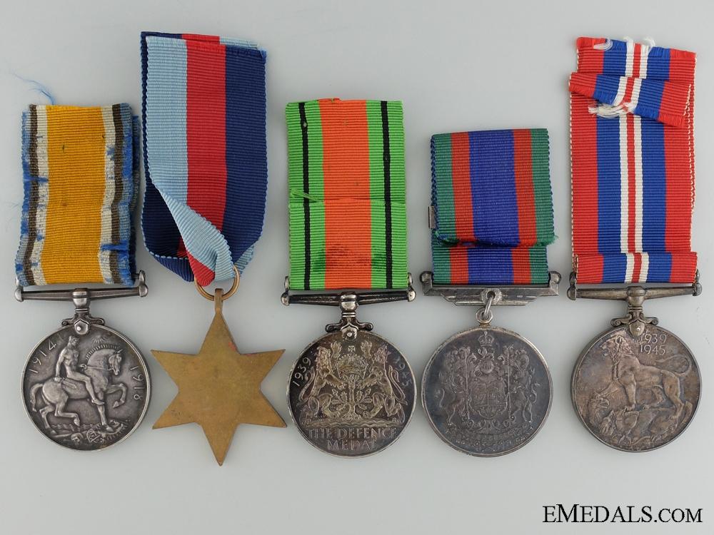 A First & Second War Canadian Group to the Saskatchewan Regiment