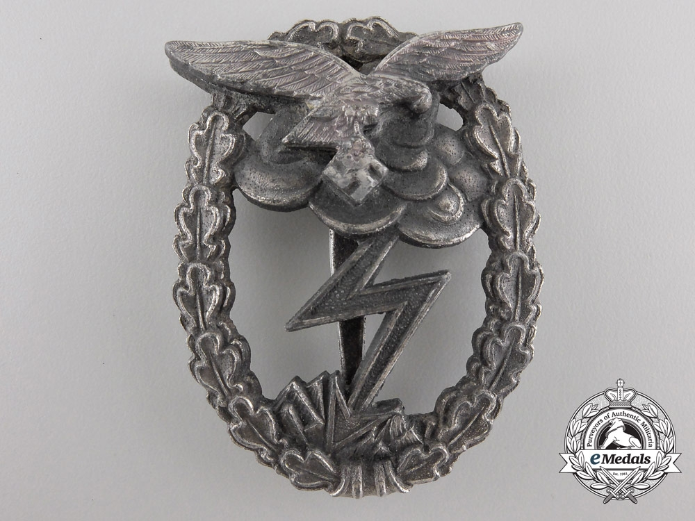A Luftwaffe Ground Assault Badge by Rudolf Karneth & Söhne