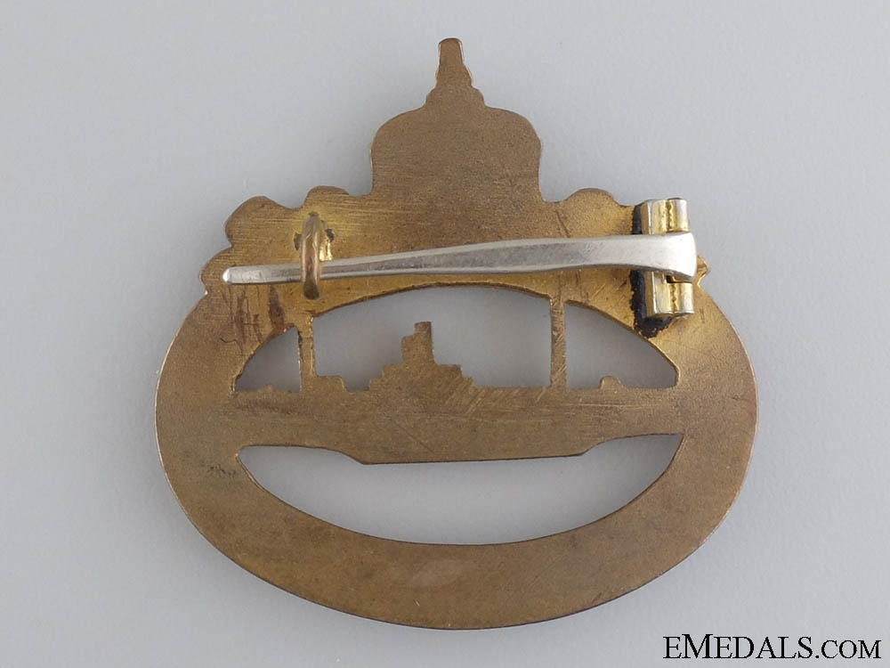 A First War German Imperial Submarine Badge