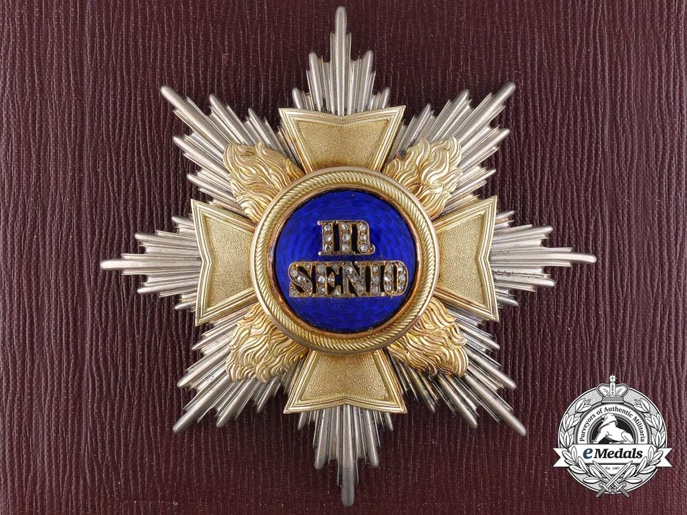 Germany, Hohenlohe, an Order of the Golden Flame Attributed to the German Chancellor