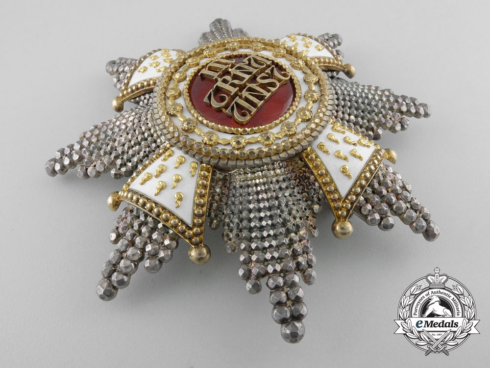 A Bavarian House Knightly Order of St. Hubert by Rothe