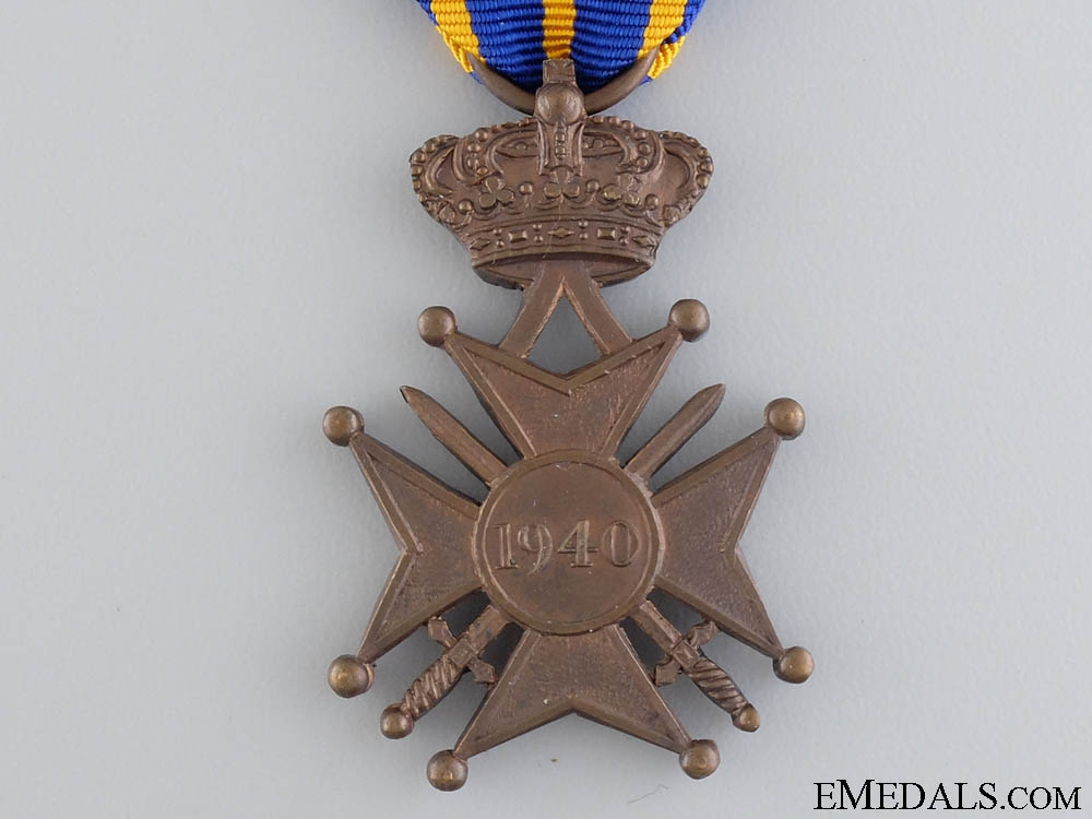 A Rare 1940 War Cross of Luxembourg
