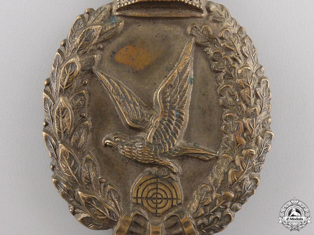 An Imperial Prussian Air Gunner Badge