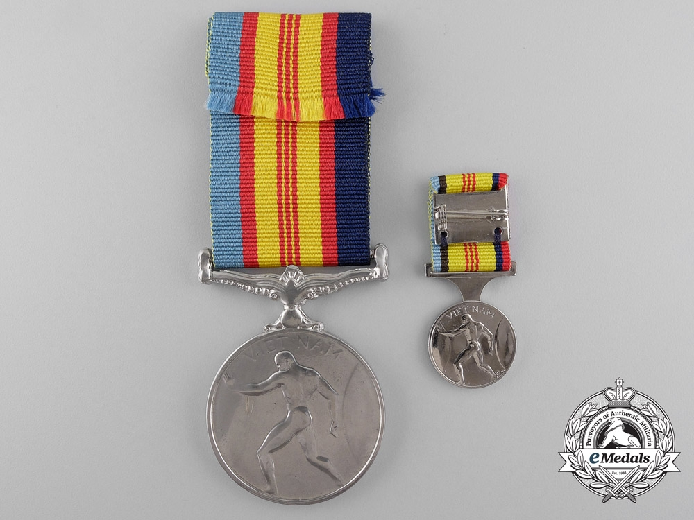 An Australian Vietnam Medal 1964-1973 to the Royal Australian Regiment