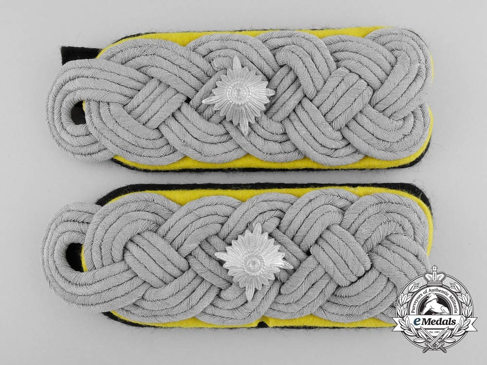 A Set of SS-Obersturmbannführer Shoulder Boards