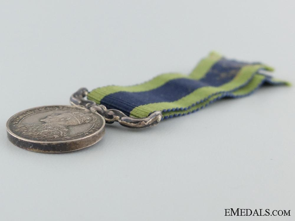 A Miniature 1909 India Medal