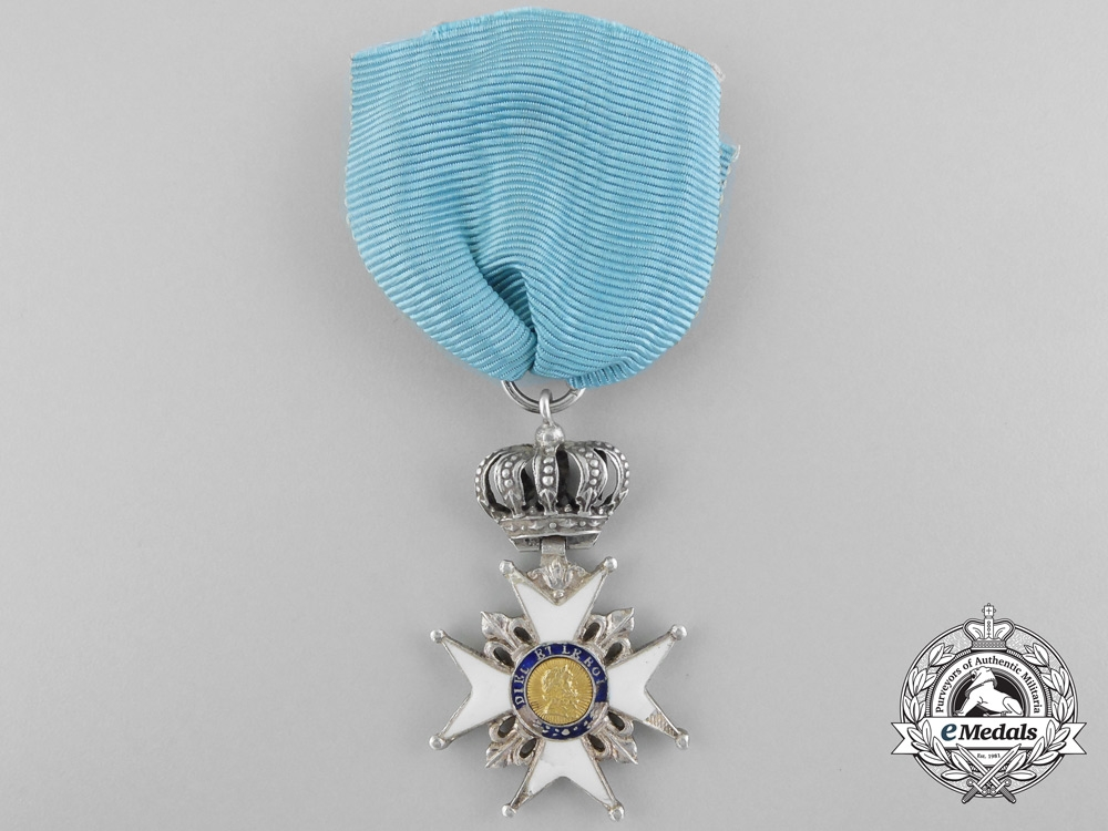 A French Order of the Lily; Cross of the Lily 1814-1824