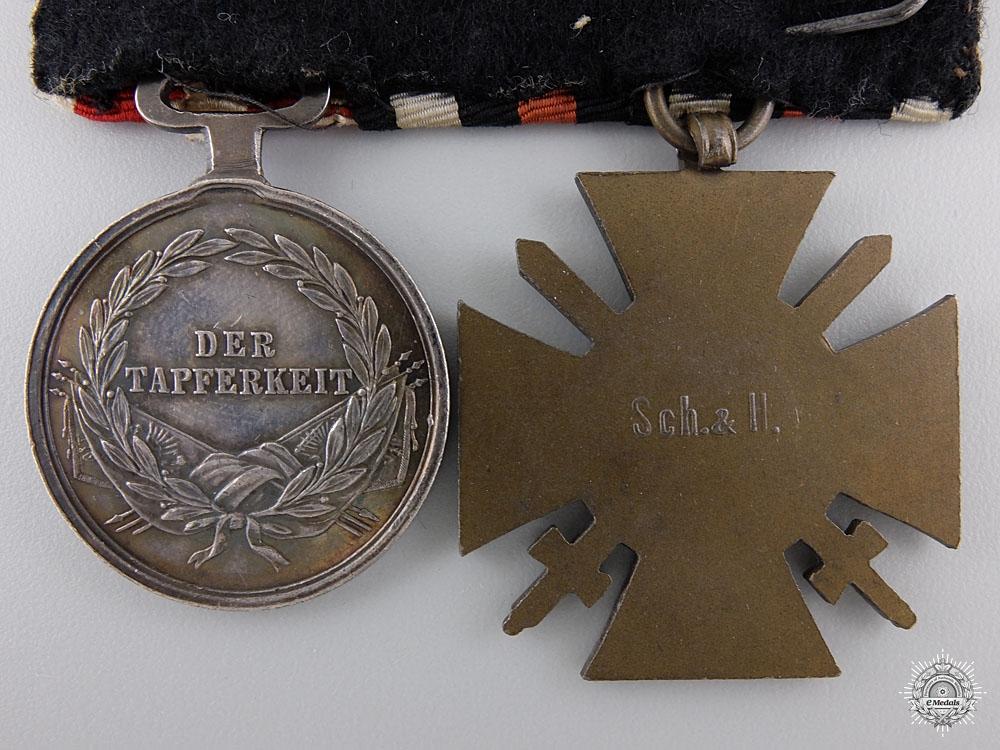 A First War German & Austrian Pair of Awards