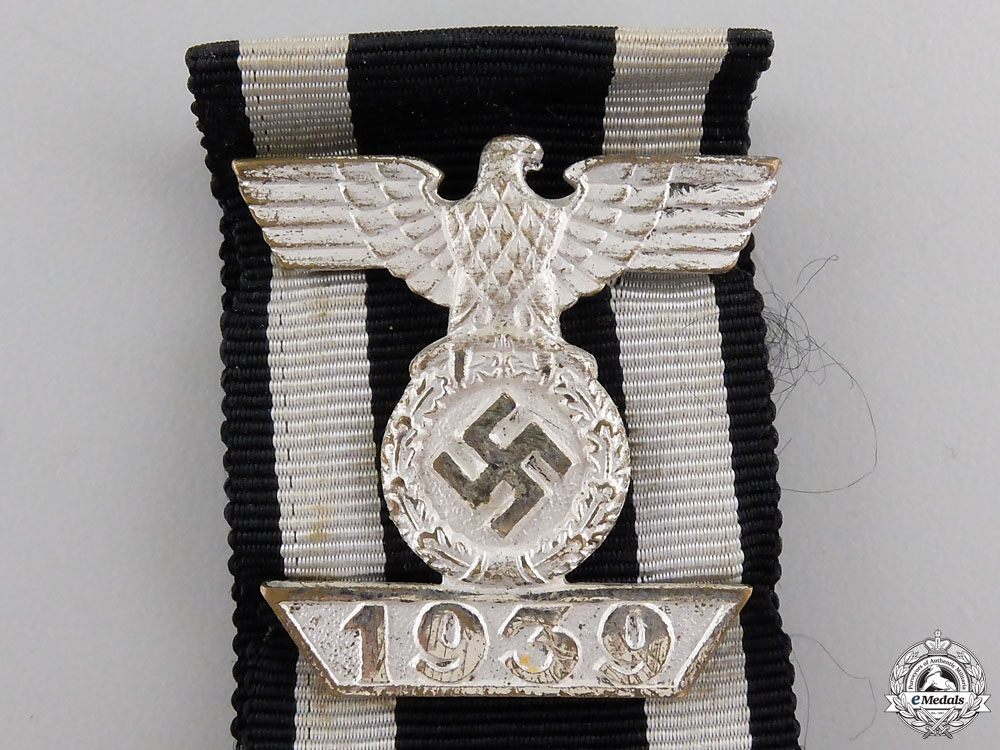 A Cased Clasp to Iron Cross Second Class